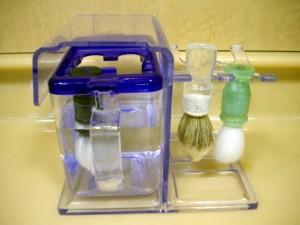 ブラシ消毒容器
