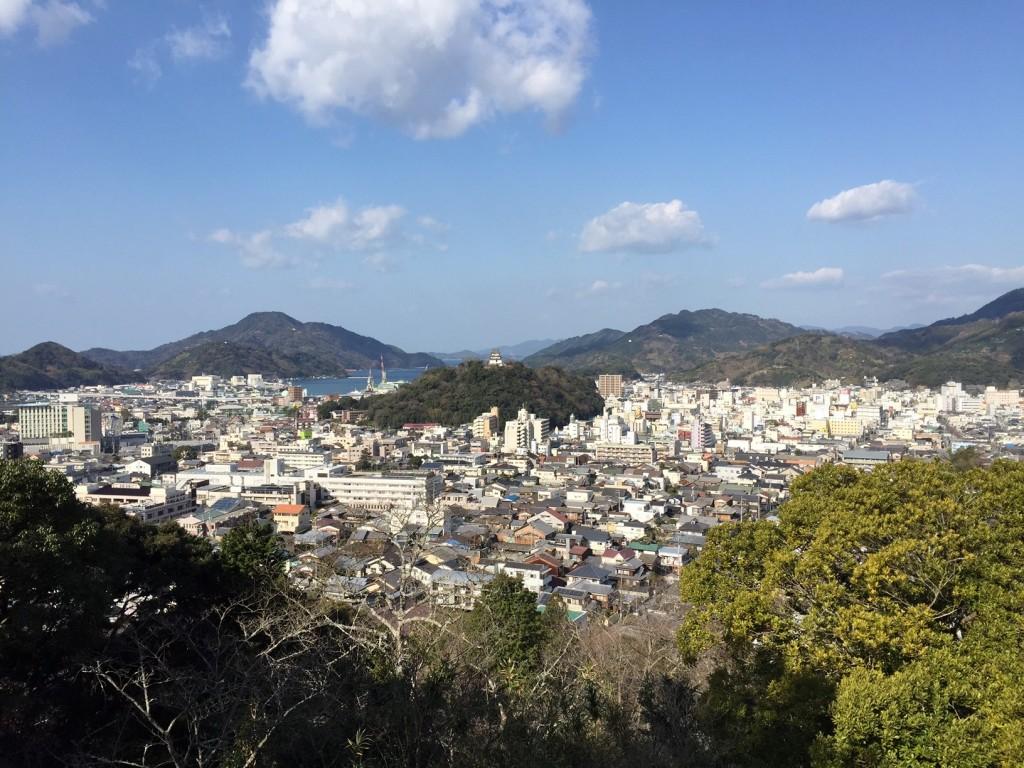 愛宕山からの風景