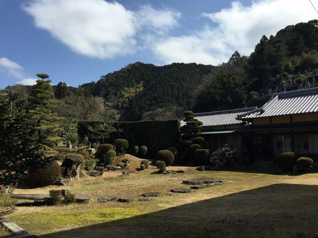 西江寺の庭園7