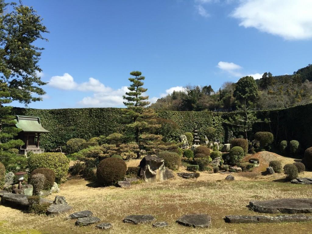 西江寺の庭園6