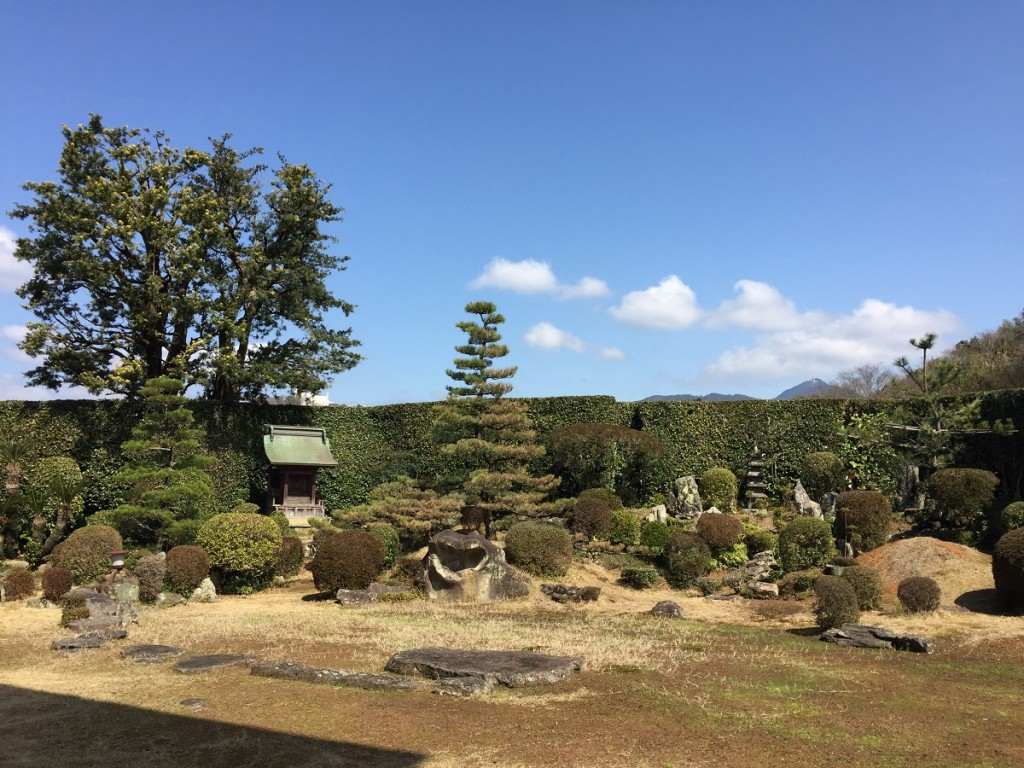 西江寺の庭園5