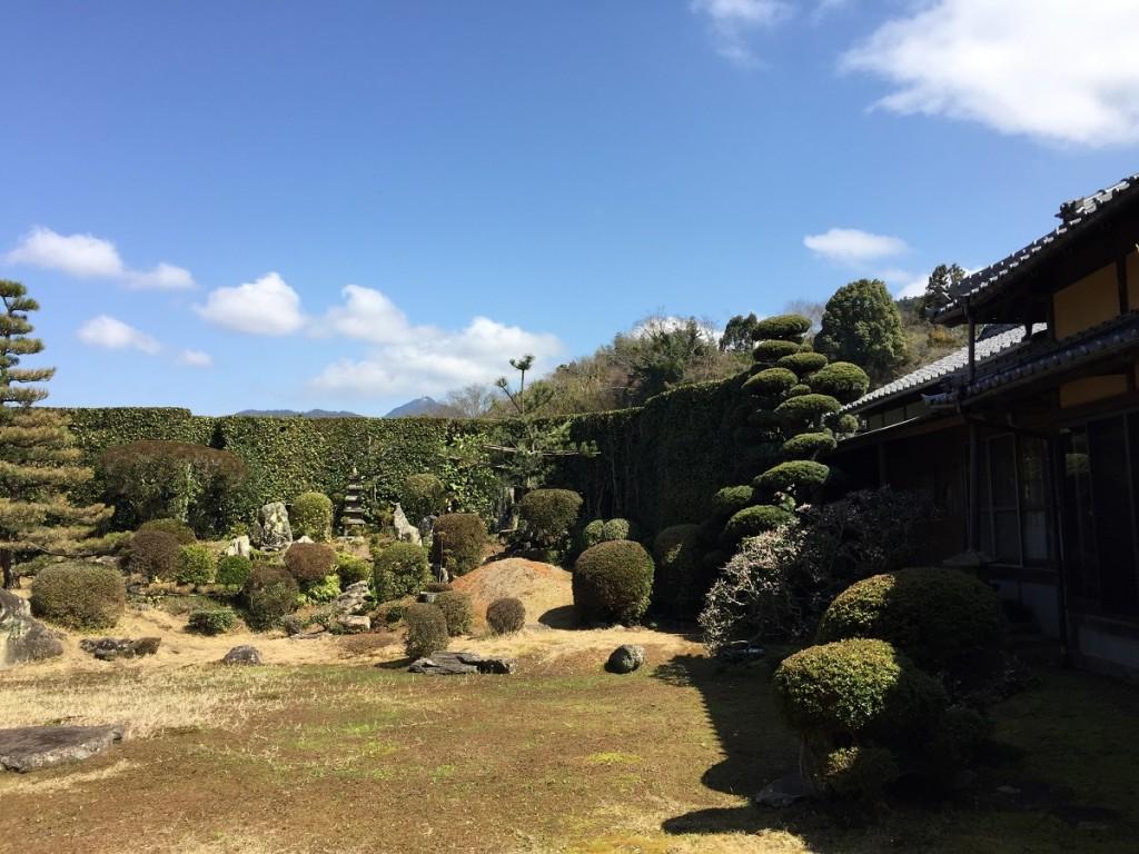 西江寺の庭園4