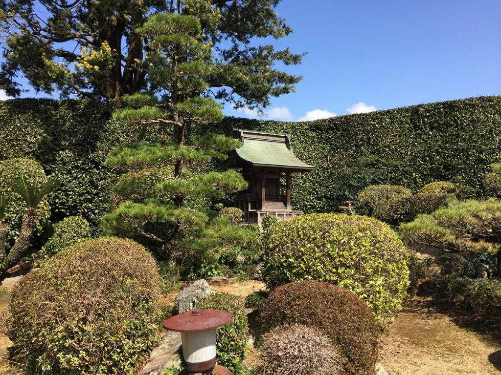 西江寺の庭園2