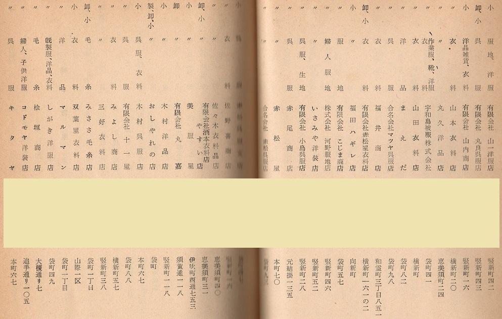 衣料・呉服店3