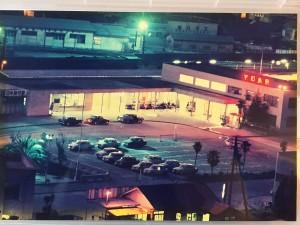 宇和島駅夜景 全体