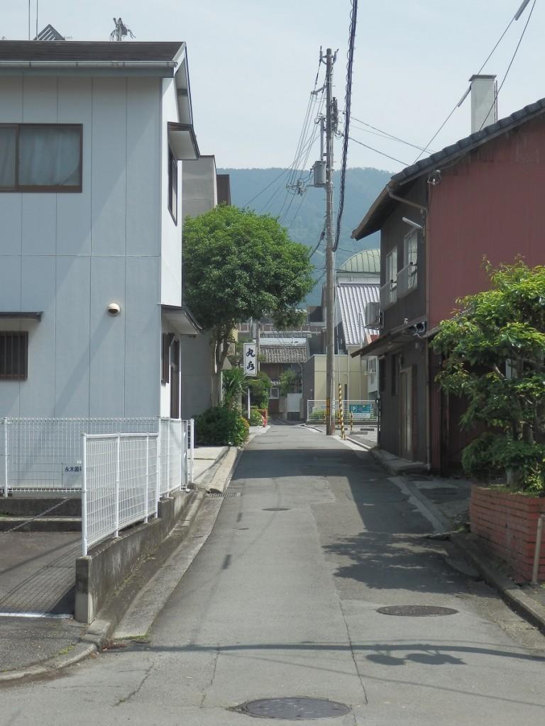 奈良屋横丁 木藤統計店側